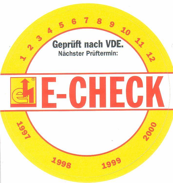 Siegel von E-Check